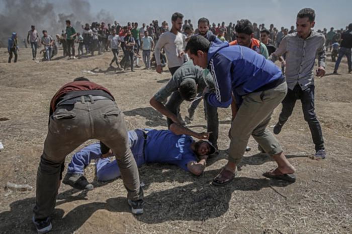 Осуммесечно бебе меѓу жртвите во судирите на границата меѓу Појасот Газа и Израел