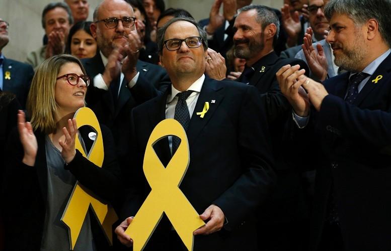 Новиот премиер Ким Тора даде заклетва само на каталонскиот народ