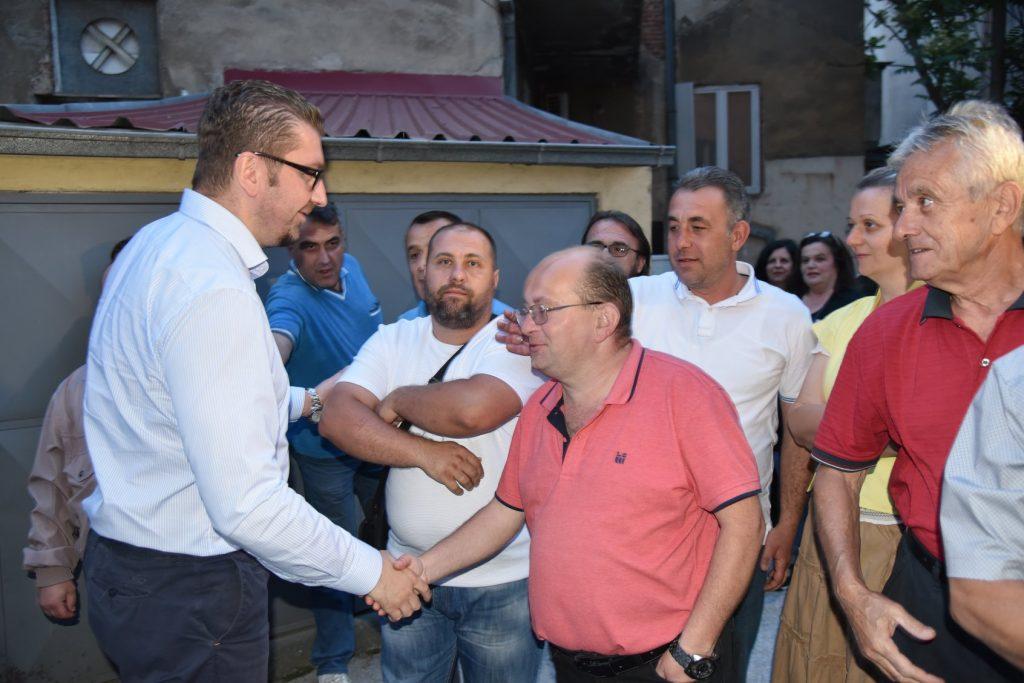 Мицкоски: Следува период во кој ќе се обидат да го заплашат Македонецот во вас