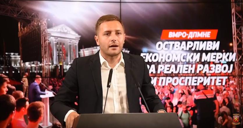 Арсовски:  ВМРО-ДПМНЕ нуди концепт на работа, кој ќе биде целосна спротивност на оваа безидејност на СДСМ и Заев