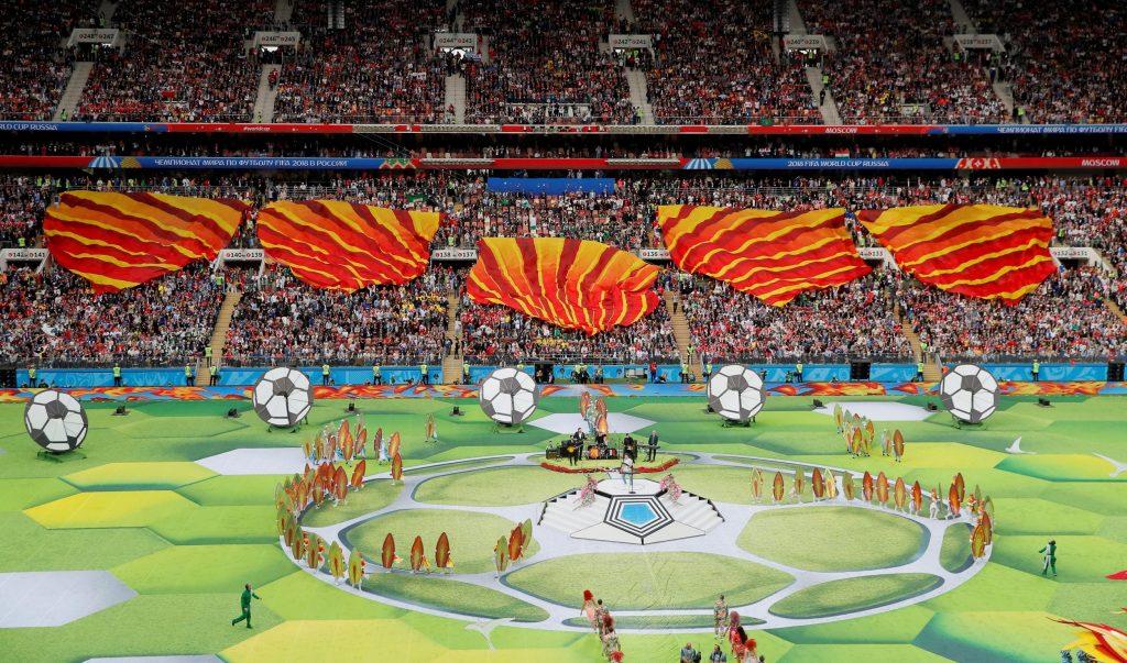 СВЕЧЕНО ОТВОРЕН СВЕТСКИОТ КУП: Еден месец фудбалски возбудувања