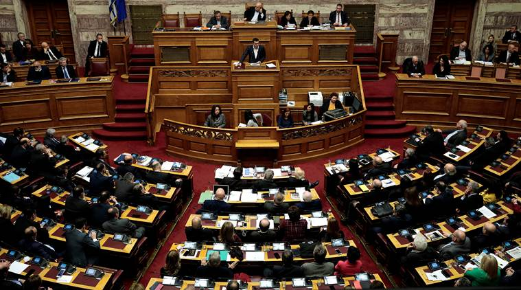 ГРЧКИ ПАРЛАМЕНТ: Нова демократија бара итен состанок за македонското прашање и сериозните геополитички случувања на Балканот
