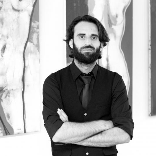 Јане Бакрески со уметнички инсталации во Дурбан