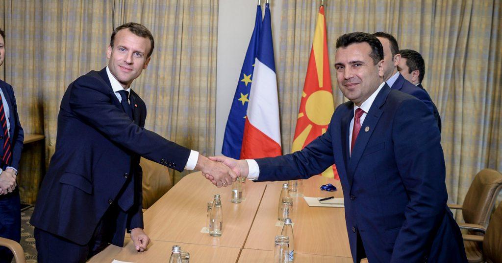 Макрон не ја ни спомна Македонија пред почетокот на Европскиот совет
