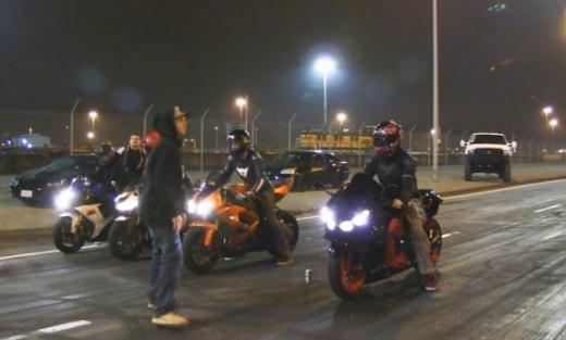 МВР: Ноќеска казнети 36 моторџии во Скопје