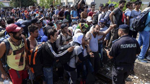 ПАНДОВ: Мигранти секоја ноќ непречено врват по пругата кон Скопје