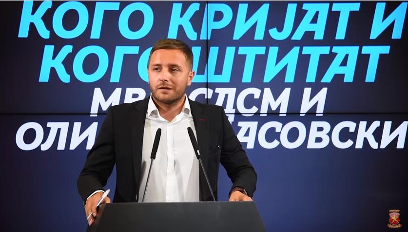 Арсовски: Коалицијата што ја направи СДСМ со криминалот и подземјето, наместо да донесе живот, ќе не чини живот