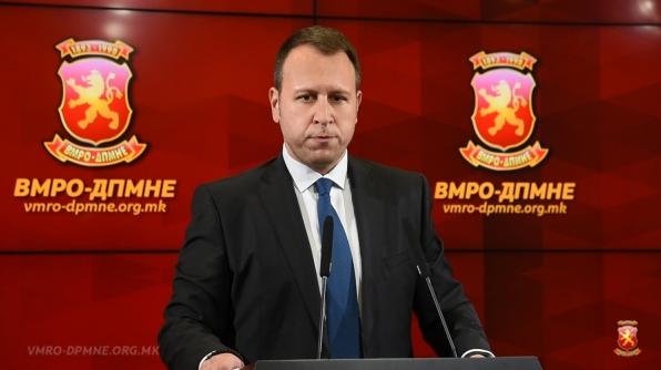 """ЈАНУШЕВ: """"Талир"""" е нова уцена на СЈО кон ВМРО-ДПМНЕ за да ги прифатиме уставните измени"""