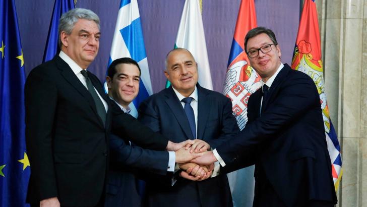 СРЕДБА НА БАЛКАНСКАТА ЧЕТВОРКА ВО СОЛУН: Ципрас вети дека ќе го изгради автопатот до македонската граница