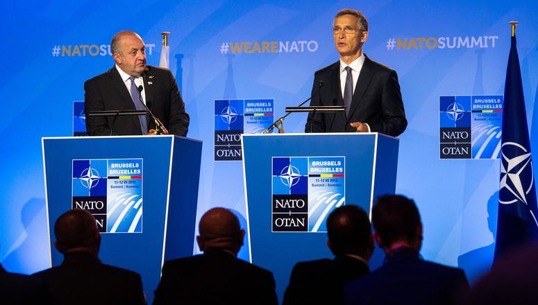 Столтенберг најави членство на Грузија во НАТО