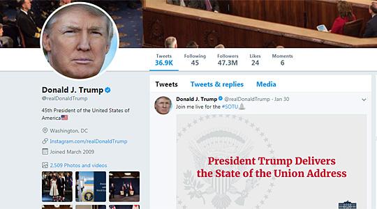 Трамп го обвини Твитер за дискриминација и незаконска пракса