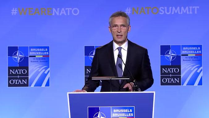 Столтенберг: Нема природен закон според кој НАТО треба да постои вечно