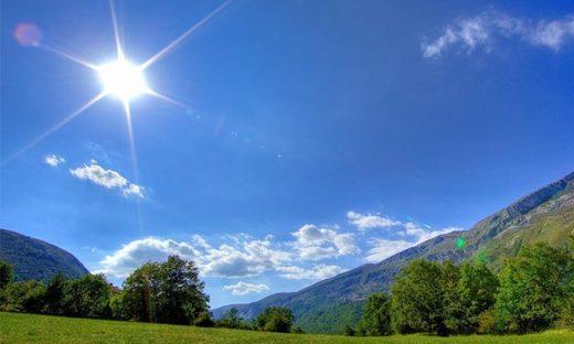 Време: Сончево со дожд кон крајот на денот