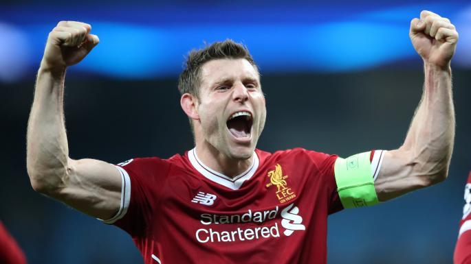 Ливерпул: Милнер се искачи на 5. место по бројот на одиграни премиерлигашки натпревари
