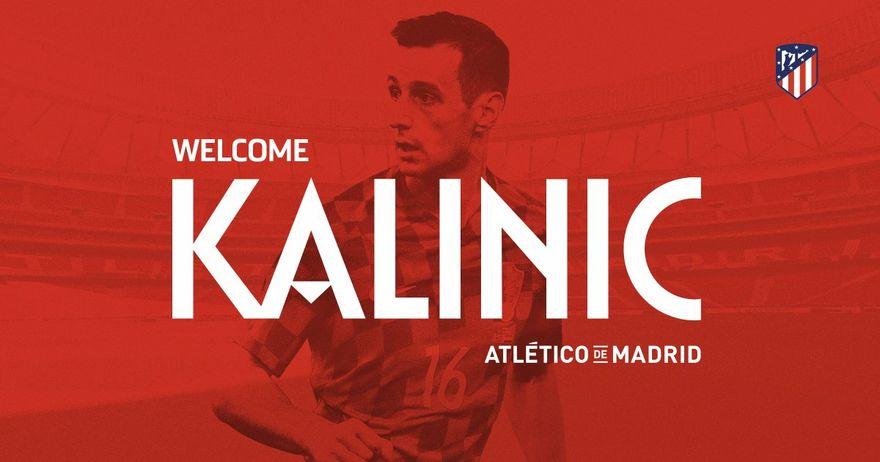 Калиниќ потпиша тригoдишен договор со Атлетико Мадрид