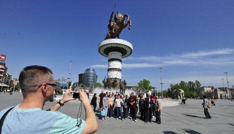 ДЗС: Намален бројот на туристи во Македонија