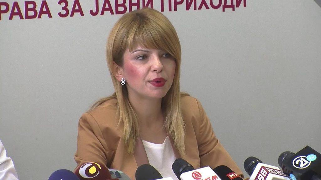 Лукаревска: Граѓаните мора да се регистрираат поради новата даночна реформа