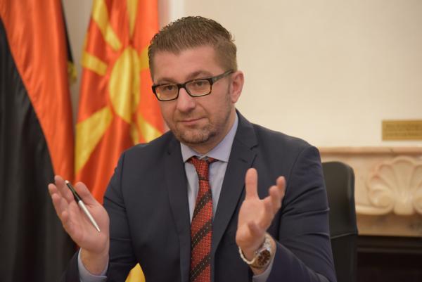 МИЦКОВСКИ ГО ОБЈАВИ СТАВОТ НА ВМРО-ДПМНЕ: Договорот со Грција ја брише Македонија, секој граѓанин да ги послуша разумот и срцето