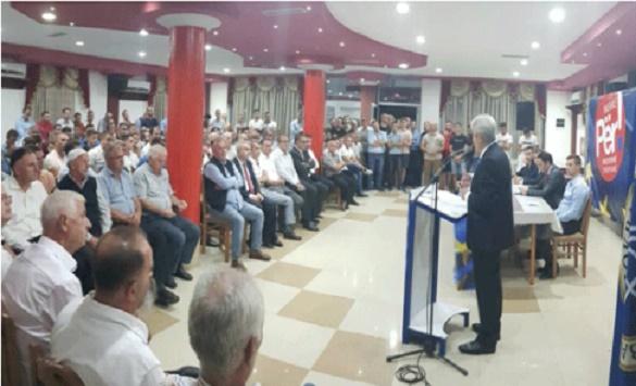 АХМЕТИ ВО АРАЧИНОВО: Ви гарантирам како брат, со зачленувањето на оваа земја во НАТО и ЕУ завршува сонот на Истокот да владее со Албанците