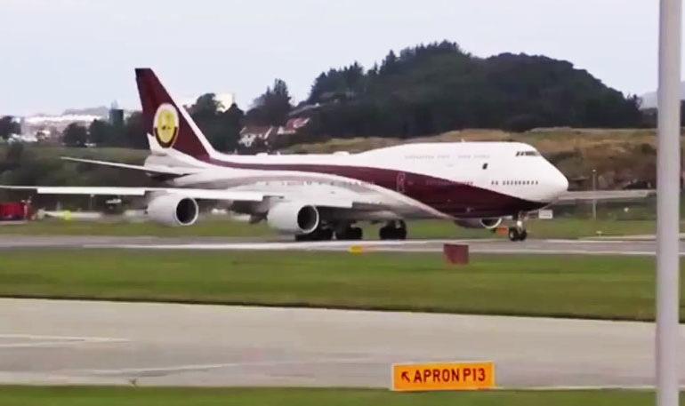 Подарок од Шеикот на Катар: Ердоган доби приватен авион вреден 367 милиони долари