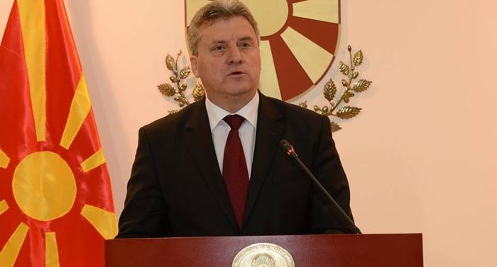 Кабинет на Претседателот: Прием од Иванов за дипломатскиот кор