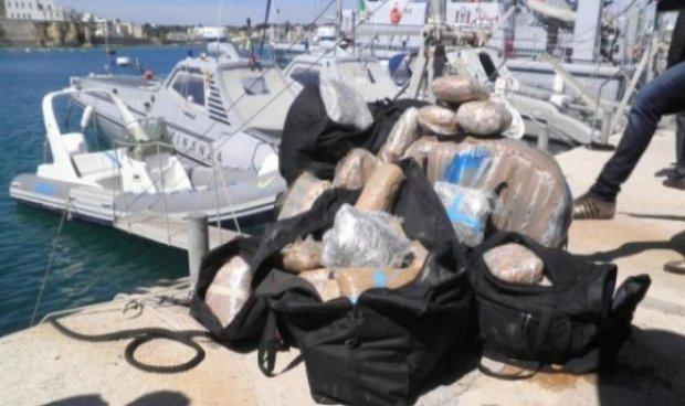 Италија: Запленети 550 кг марихуана од Албанија, вкупно 40 тони за осум месеци