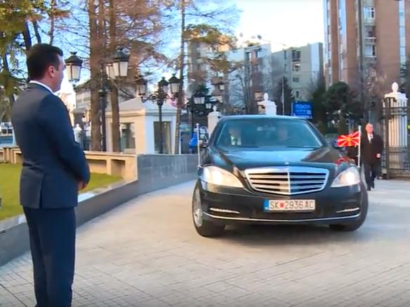 ЗАЕВ: Сега ќе го продаваме мерцедесот на Груевски