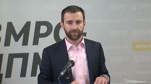 Димовски до СДСМ: На избори не сте победиле никогаш, нема ни сега