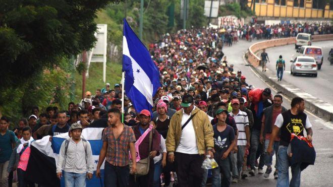 Мигрантскиот караван напредува кон САД и покрај предупредувањата на Трамп