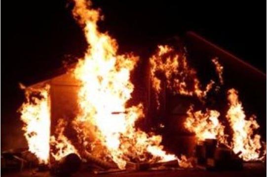 Пожар во куќа во Охрид