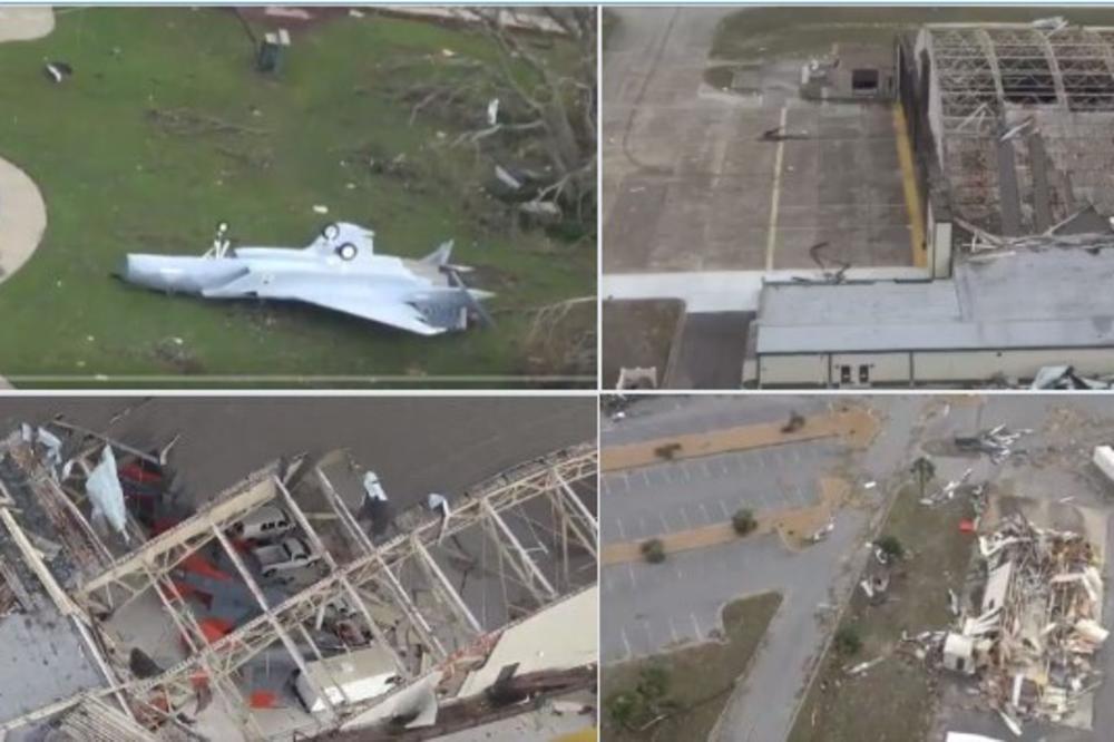 Пред налетот на ураганот капитулира и војската: Мајкл ја разори и воена база Тиндал на Флорида
