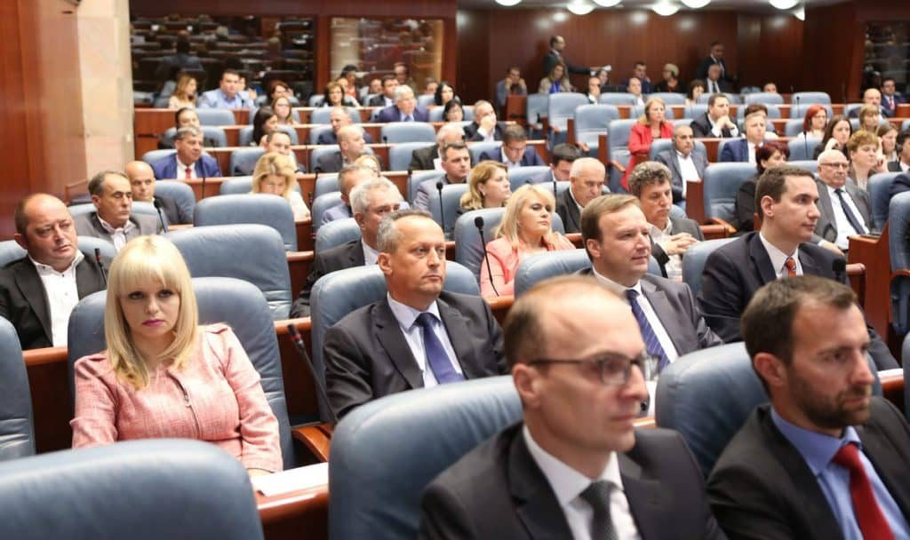 ВМРО-ДПМНЕ: Нема да го поддржиме законот за Охридскиот регион бидејќи е скандалозен
