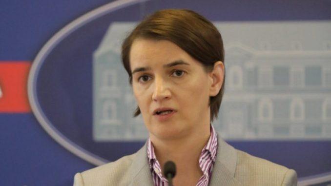 Брнабиќ: Во Србија нема да има насилен преврат и анархија