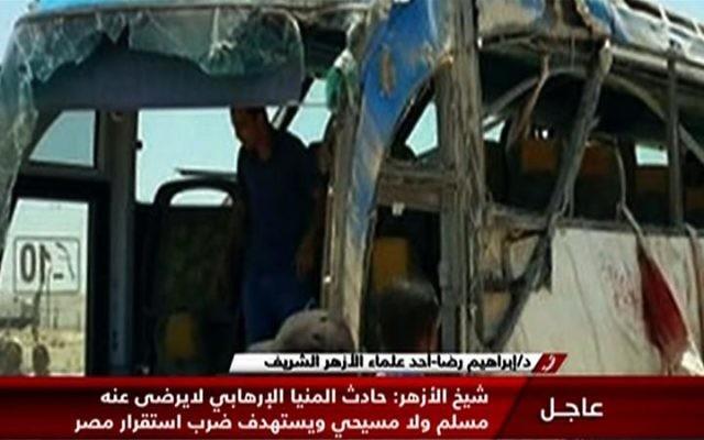 (галерија) НАПАД НА ХРИСТИЈАНИ ВО ЕГИПЕТ: Убиени најмалку 7 и многу ранети во масакр на верници кои со автобуси оделе во манастир