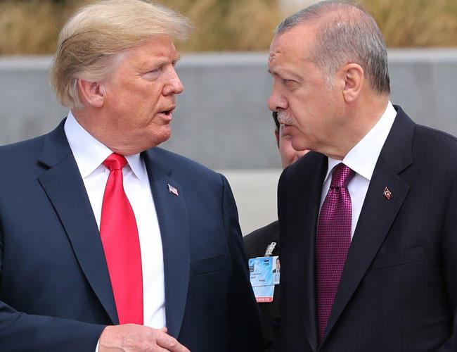 БИ-БИ-СИ: Ердоган го фрлил писмото од Трамп во корпа за отпад
