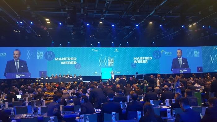 КОНГРЕС НА ЕПП ВО ХЕЛСИНКИ: Германецот Mанфред Вебер и Финецот Александер Стуб кандидати за можен наследник на Јункер
