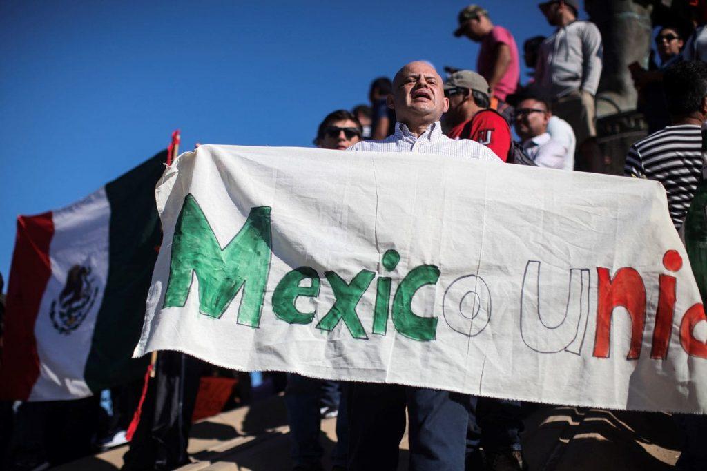Мексико: Протест против централноамериканските мигранти на границата со САД