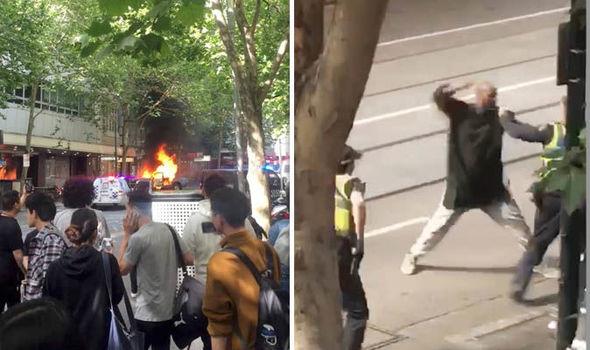 Ештон: Нападот во Мелбурн е тероризам, напаѓачот застрелан од полицијата
