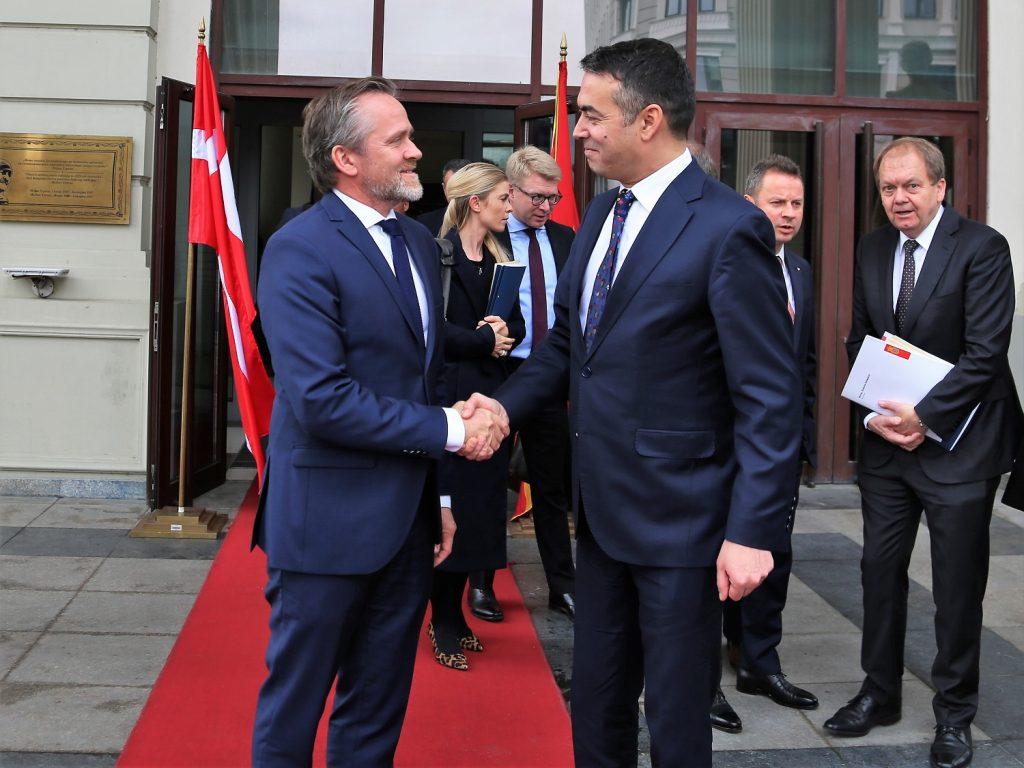 Самуелсен во Скопје: Без реформи нема данска поддршка за Северна во ЕУ и НАТО