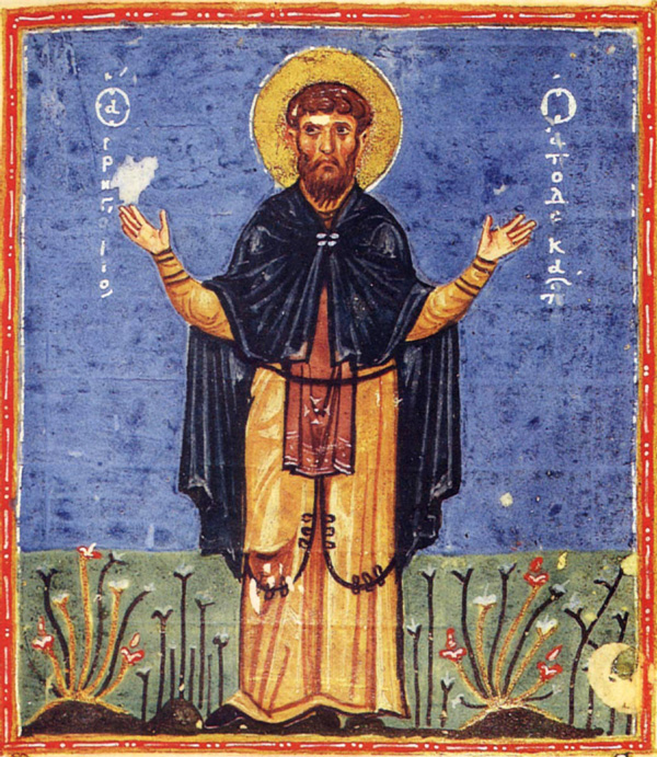 Денеска е  Предпразненство на Воведение на Пресвета Богородица; преп. Григориј Декаполит