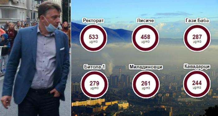 ВЛАДА: Секојдневно се видливи мерките кои ги преземаме против загадувањето на воздухот