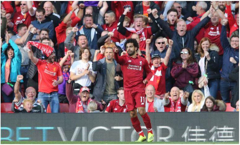 Салах со два гола го предводеше Ливерпул до победата над Арсенал
