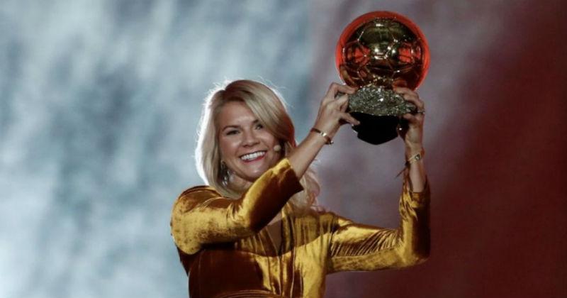 """Норвежанката Хегерберг стана сопственик на првата """"Златна топка"""" за жени"""