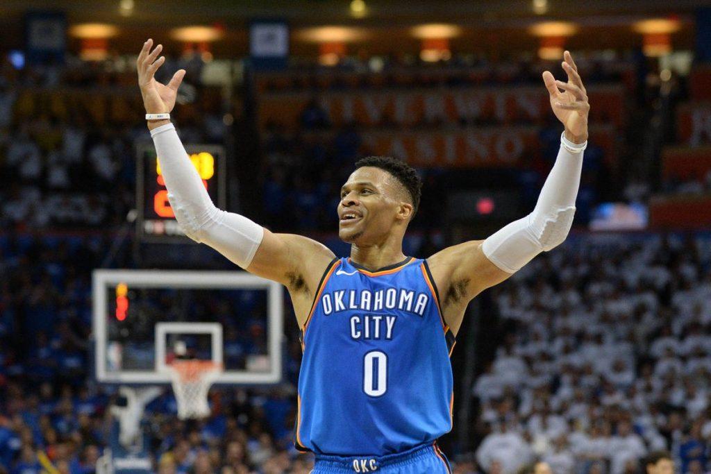 """Вестбрук влезе во топ3 на сите времиња во НБА во """"трипл-дабл"""" категоријата"""
