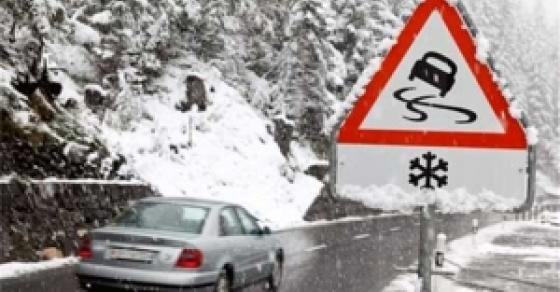 Крива Паланка – Деве Баир: Поради снегот забранет сообраќај за камиони