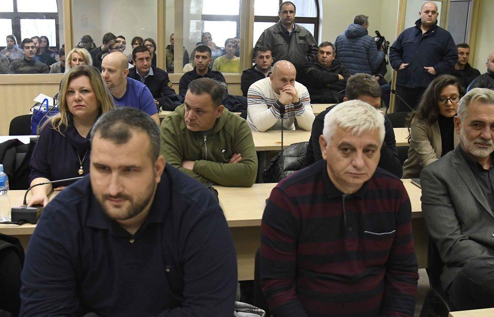 Александар Василевски Нинџа со обвинувања во денешното давање одбрана во Кривичен