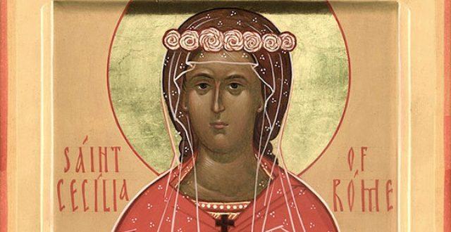 Денеска е  Св. мч-чка Кикилија (Цицилија)- заштитничка на цркoвнoтo пeeњe и на музиката