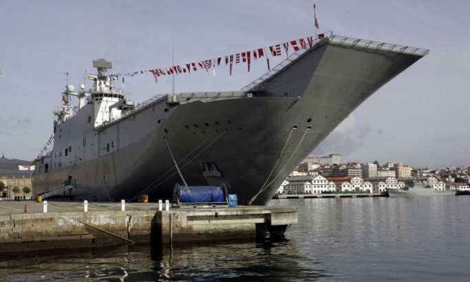 САД испраќаат десантен брод заради повлекувањето на војниците од Сирија