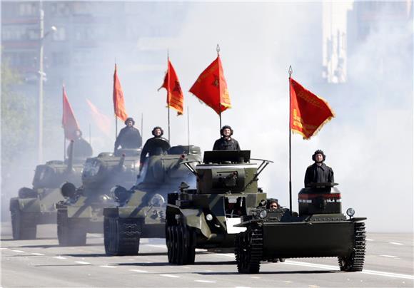 Легендарните тенкови Т-34 се враќаат во Русија