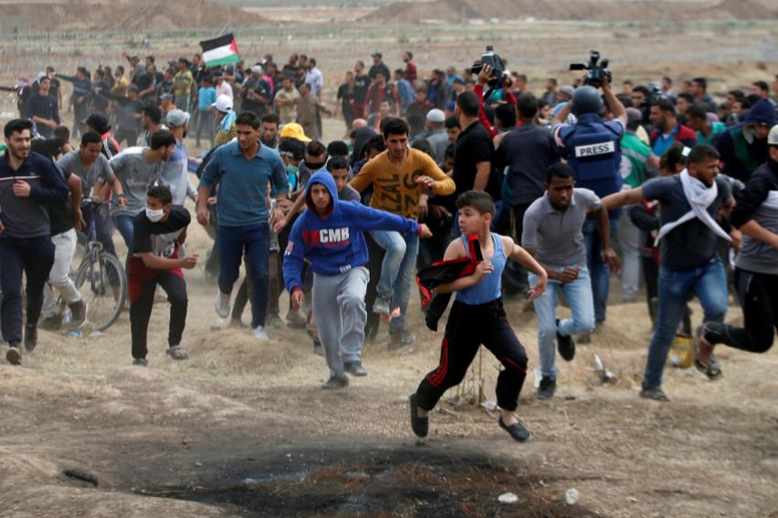 Палестинка загина во нови судири на границата меѓу Газа и Израел